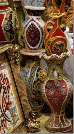 1278 mit gewobenem Teppich überzogene Vasen = sehr eindrucksvoll und zum Teil sehr schön (560x1024)