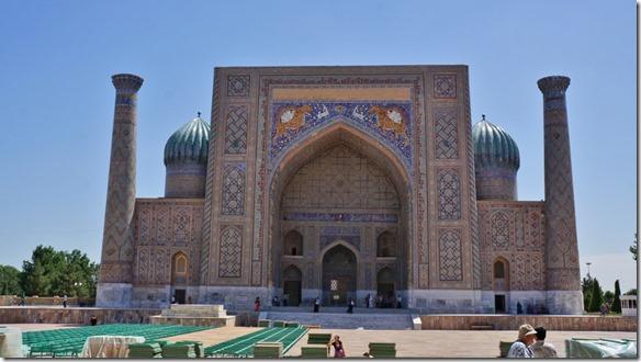 1954 Teilansicht Registan, Samarkand  (1024x575)