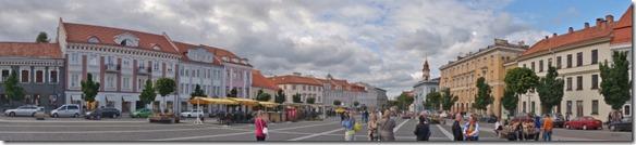 3710 Panorama des Zentrumsplatz in Vilnius  (1024x232)