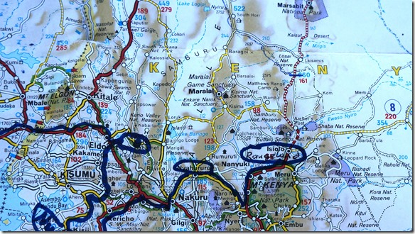2318 Thompson Falls Camp, Nyahururu - Rangeland Camp, Isiolo