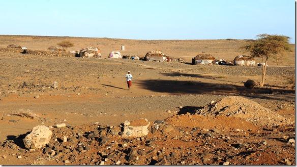 2337 diese Hütten sehen wie mongolische Yurten aus
