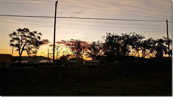 2346 Sonnenuntergang in Moyale