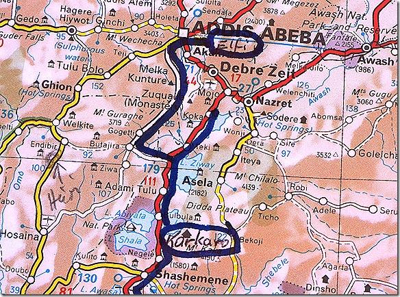 2549 Karkaro Lake Langano - Addis Ababa