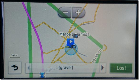 2749 auf der Strassenkarte kaum markiert, aber das GPS gibt die genaue Position an