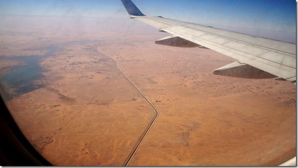 2817 ein Wasserkanal bringt das kostbare Gut zu andern Stellen in der Wüste