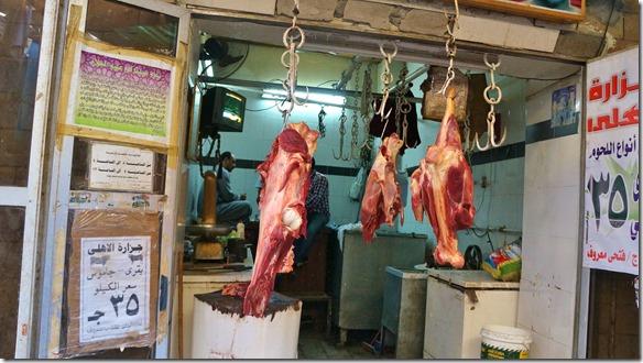 2877 auch Fleisch gibt es zu kaufen nach Lebensmittelrichtlinien Ägypten