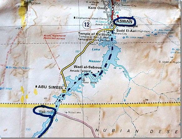 2974 Wadi Halfa - Aswan (mit der Fähre)