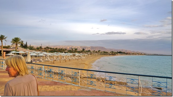 2999 Ausblick von unserem letzten mit John gemeinsamen Hotel aus = Amego Hotel vor Suez