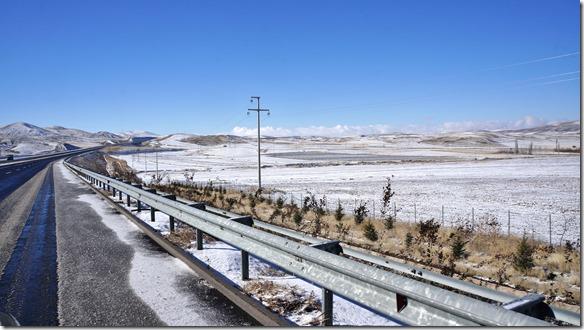 3036 Kälte und Schnee (ab der Südtürkei bis an die Schweizergrenze, nachher haben wir sowieso kaltes Wetter erwartet) auf schnellstem Weg in die Schweiz