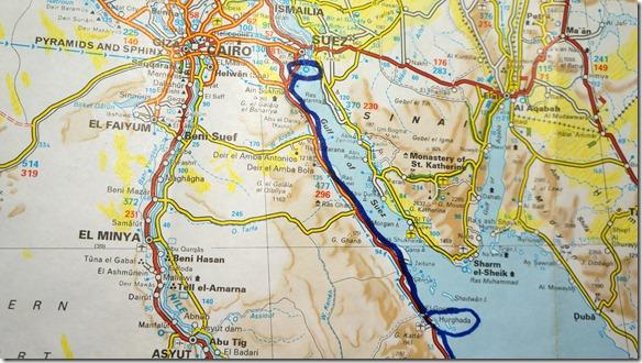 3045 Hurgada - 30 km vor Suez