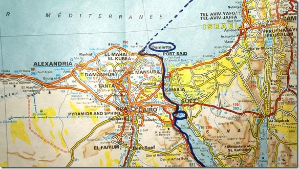 3047 Damietta - Fähre nach Iskenderun (Türkei)