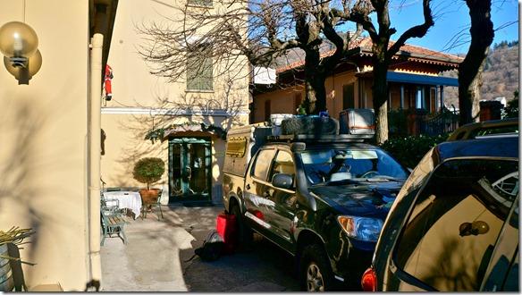 3050 unsere letzte Übernachtungstätte in Como, das Hotel Locanda Milano