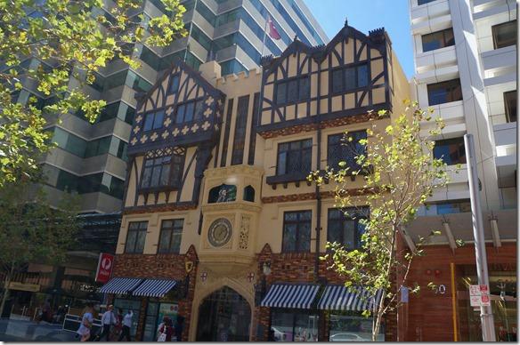 1040 eine der Ältesten noch vorhandenen Gebäude in Perth