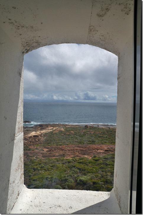 1128 die Aussicht durch die verschiedenen Fenster auf dem Weg nach oben ist atemberaubend