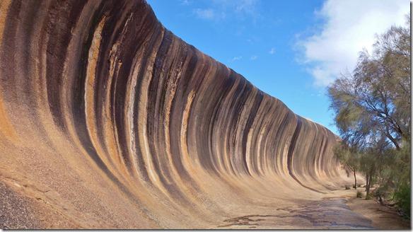 1266 eine erstaunliche Gesteinsformation in der man nicht surfen kann
