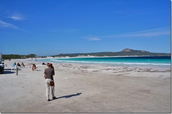 1319 im Cape le Grand Nationalpark hben wir den feinsten und weissesten Sand vorgefunden