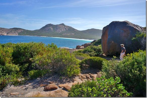 1322 eine weitere stille Bucht im Cape le Grand Nationalpark