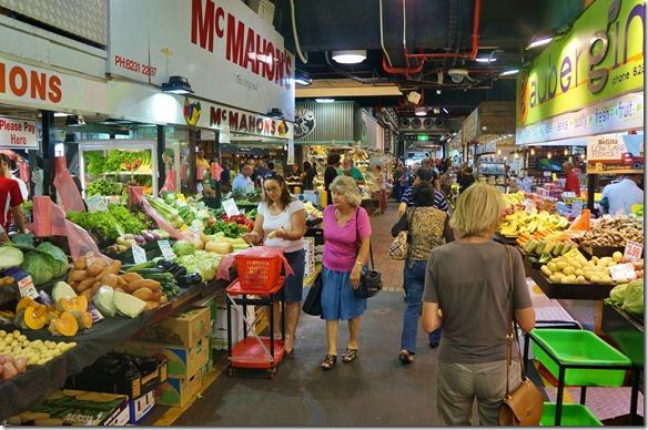 1542 der Centralmarket in Adaleide sieht fast so aus wie ein Früchte und Gemüsebazar im Iran