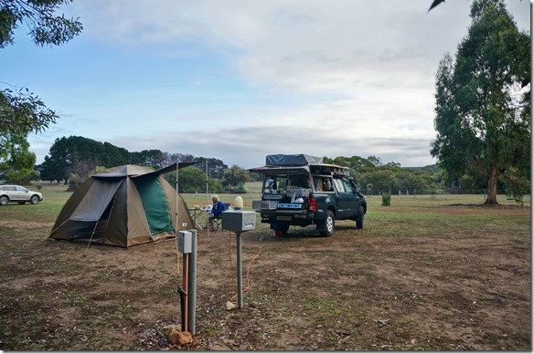1593 unser Camp im Flinders Chase Camping