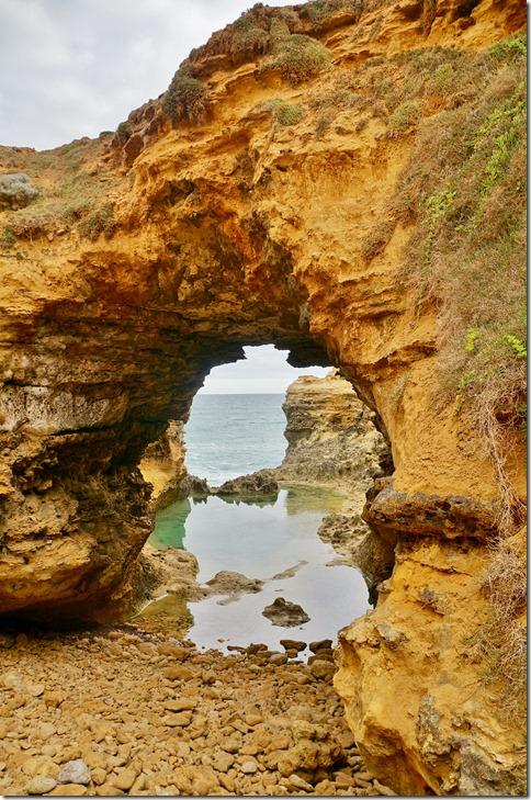 1670 ein ausgewaschener Fels genannt The Grotto