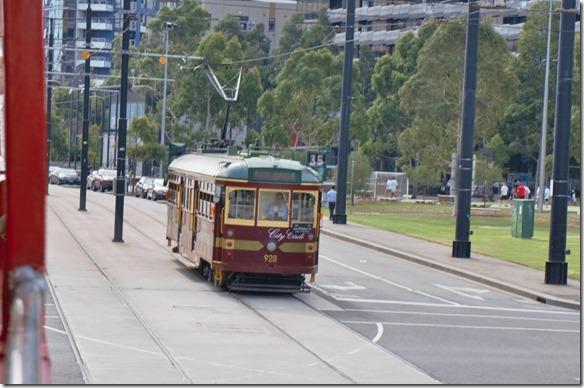 1738 das City Tram ist ein leicht historisches Gefährt
