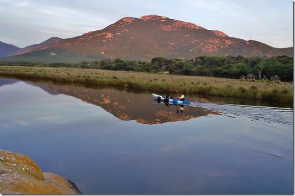 1777 der Fluss der dem Camp den Namen gibt = Tidal River