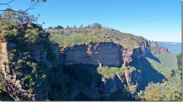 1927 der Name der Blue Mountain kommt von dem blauen Dunst der über den Bergen liegt und der von den da wachsenden Eukalyptus-Bäumen kommt