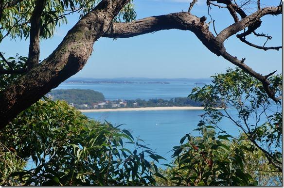 1952 Ausblick auf die Buchten von Tomanree Hill