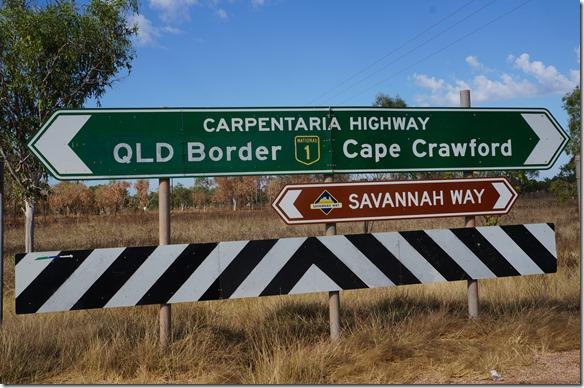 2758 der Savanna Way ist unser Weg nach Norden nach Darvin