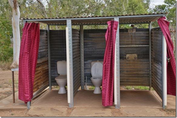 2770 die Tolietten und duschen in Lorella Springs (sauber und mehr als genügend Wasser
