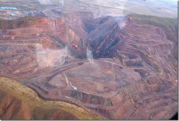 3125 im 2020 wird diese Mine geschlossen (hier werden die seltenen rosa Schmuckdiamanten gefunden)