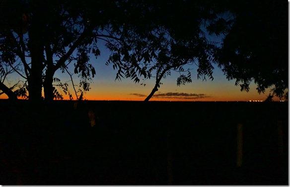 3215 Abendstimmung im Kimberley Entrance Camp Richtung Meer