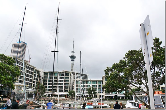 1019 der Fernsehturm von Auckland, das Wahrzeichen ist höher als der Eifelturm in Paris