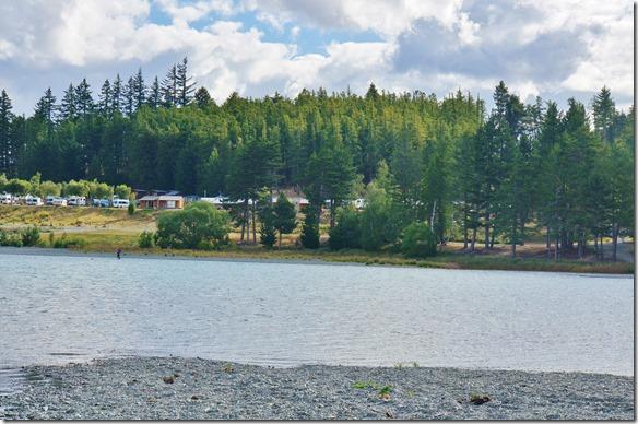 1211 der Camping von der andern Buchtseite aus