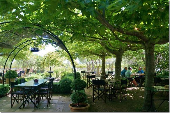 1295 unter diesen Bäumen haben wir ein schönes Ribeysteak gegessen