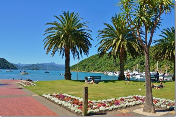 1298 zurück im Hafen von Picton