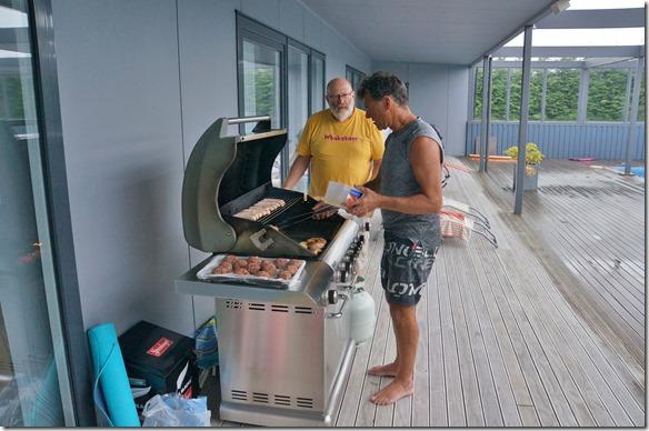 2111 es gibt einen fantastischen B&B = mit Fleisch wird auch hier in Neuseeland nicht gespart