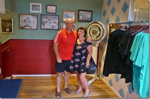 2177 Angie und Bruce, die Cedric und ich auf der Südinsel im Januar kennen gelernt haben. Gaby und ich haben sie zu einem Kaffee getroffen und viele gute Reiseempfehlungen erhalten