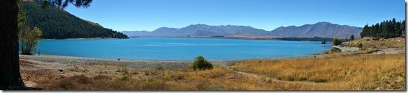 2336 Morgenstimmung bei schönstem Wetter am Lake Tekapo