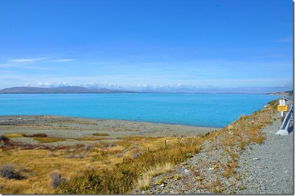 2348 dieser See hat dieselbe schöne Türkisfarbe wie der Lake Tekapo