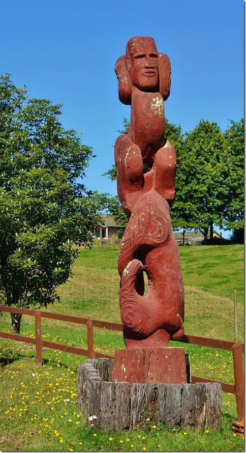 2536 wir wollten eine Maoristätte besuchen, aber leider ist diese nur am Abend zugänglich (mit einem Maori-Essen verbunden)