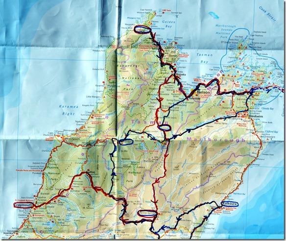 von Picton nach Greymouth