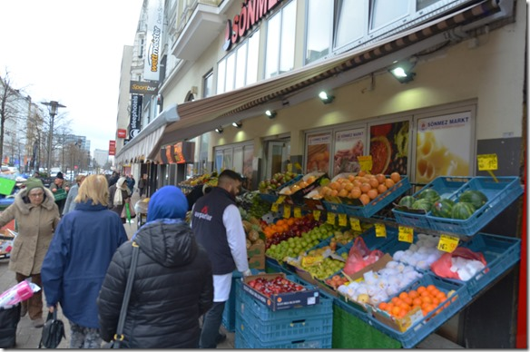 a1003 auf einem Markt in Hamburg