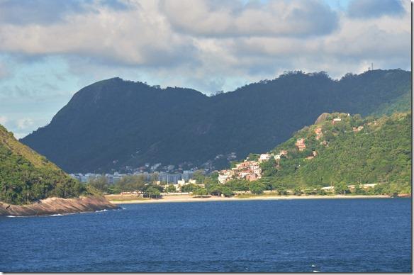 a1640 eine Favela in der Sonne