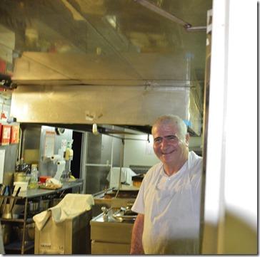 a1499 der Küchenchef der die immer guten Essen zubereitet