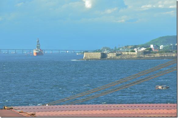 a1638 die Festung der Rio Hafeneinfahrt