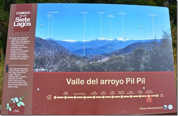 a2244 die Übersicht über die ganze Rute mit den entsprechenden Bergbezeichnungen