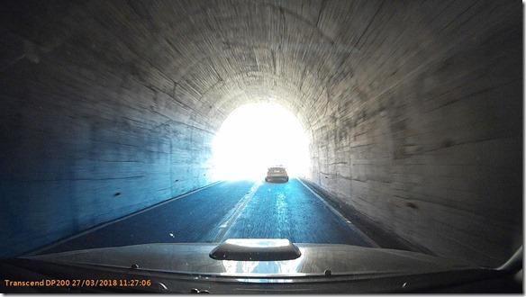 a2308 auf dieser Strecke sind ein paar wenige, kurze Tunnels = fast die einzigen in Agrentinien