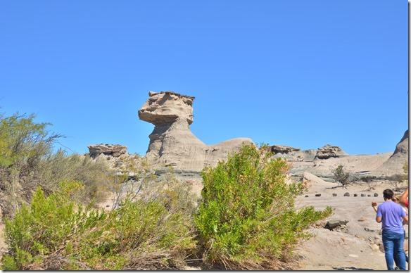 a2357 viel Steinsformationen sind von Wind und Wasser über die Jahrtausende zu bizarren Formen geformt und ausgewaschen worden
