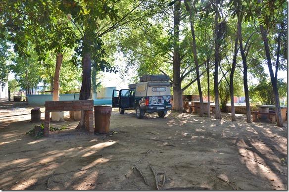 a2380 auf dem Camping Parador in Chilecito einer ehemaligen Mienenstadt